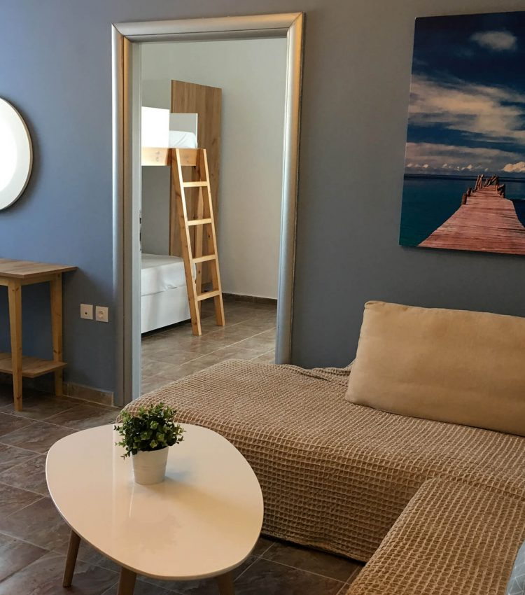 Philoxenia Evgenia - Vrasna Beach - Penthouse Apartment - www.philoxenia-hotels.com