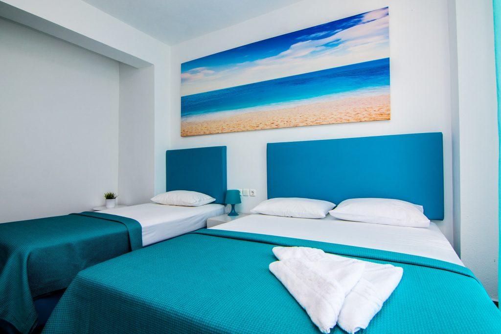 Philoxenia Evgenia - Vrasna Beach - Triple Room - www.philoxenia-hotels.com